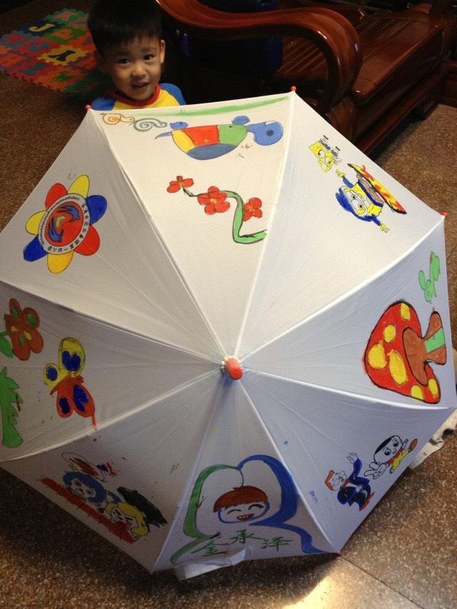 【秀秀宝贝的雨具】手绘雨伞