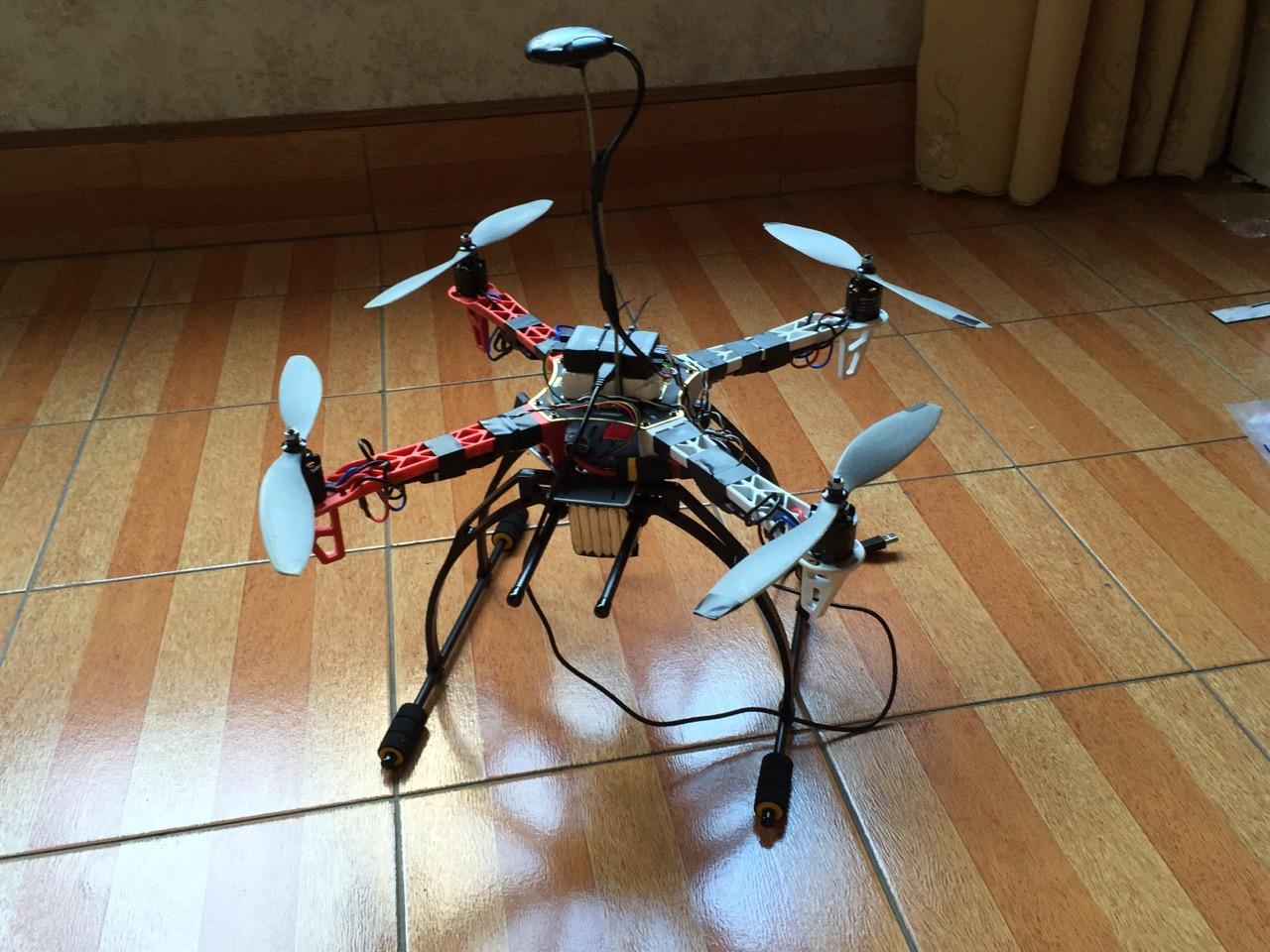 寻找一架无人机(四轴飞行器)